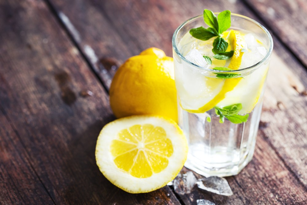 Drink is Lemon Water